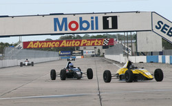 Leading the pack at Sebring
