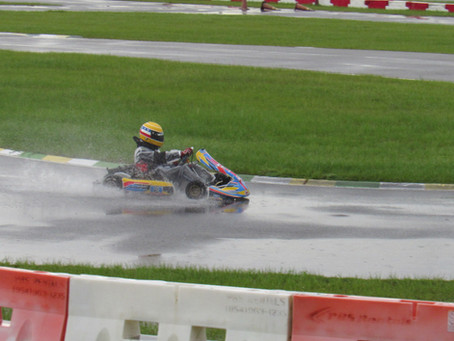 The Art of Racing in the Rain...Thunderstorm edition!