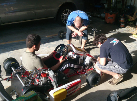 Shaking down the new kart - the Birel ART S8B