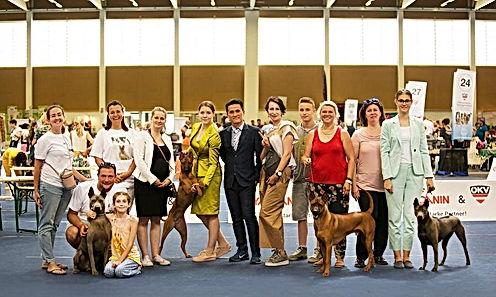 Eropean Dog Show Wels 2019