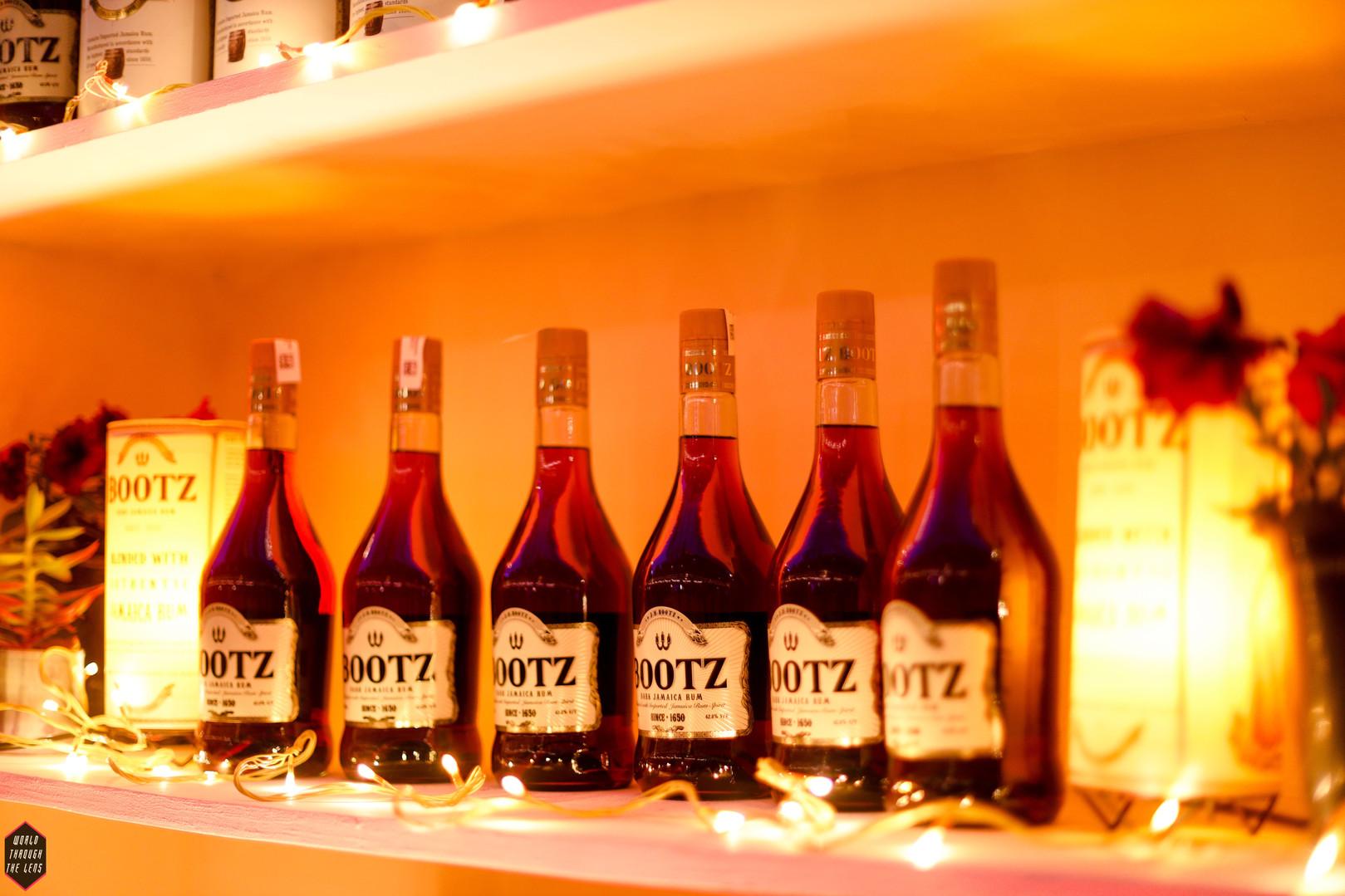 Bootz Rum Display
