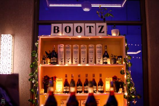 Bootz Rum Bar Display