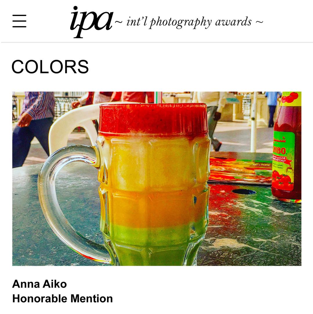 ANNA AIKO-SHOT ON iPHONE
