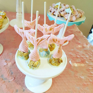 Mermaid Tail  Cakepops