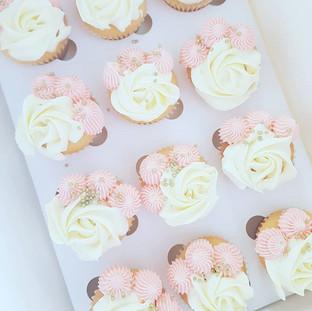 Roseswirl  Cupcakes
