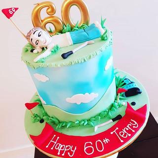60th Golf Cake