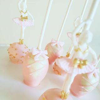 Ballerina  Cakepops