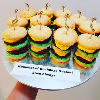 Big Mac Cupcakes