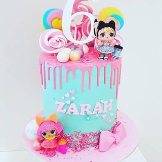 Zarah's LOL Doll Drip Cake ._._._._.__#s