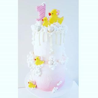 Rubber Duckie 1st Birthday ._._._._._Top