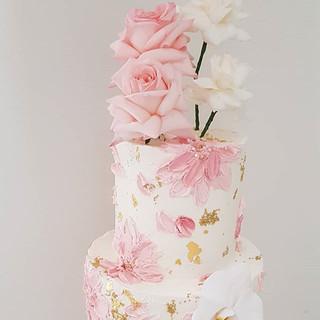 Stunning Flowers Cake