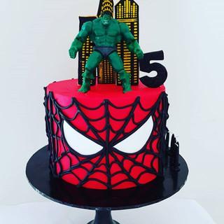 Spiderman Hulk MSuperhero