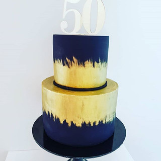 Black and Gold 50th