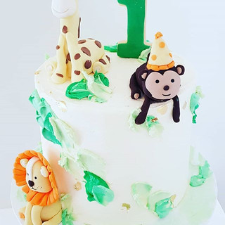 George's Wild One Jungle Cake_._._._._._