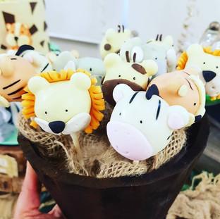 Jungle Animal  Cakepops