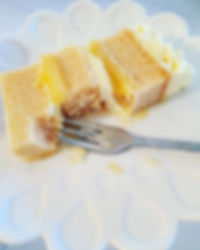 Our Lemon Curd Vanilla white mud is the