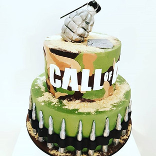 Call of Duty Cake