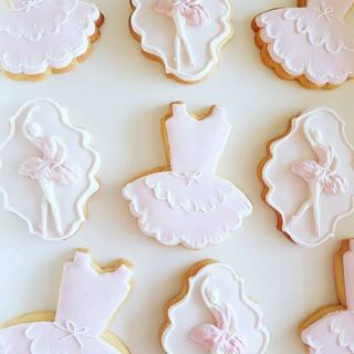 Ballerina Cookies