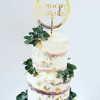 Vincenzo's Communion__Cake Topper _lette