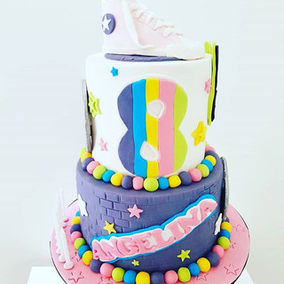 Cool Kids Cake Disco Cake