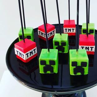 Minecraft  Cakepops