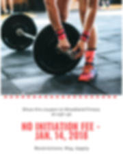 Present this coupon to Woodland Fitness