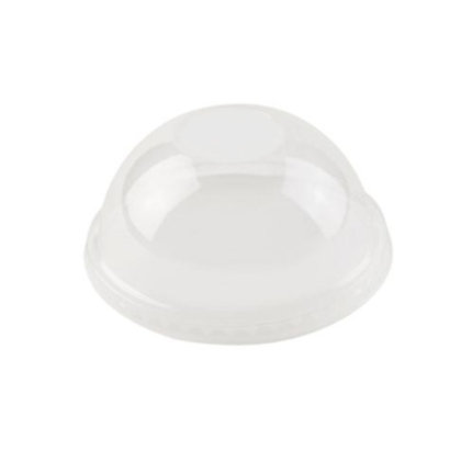 Deksel voor Transparante cups, Koepelvormig, Dicht, ⌀96 mm (1000 stuks)