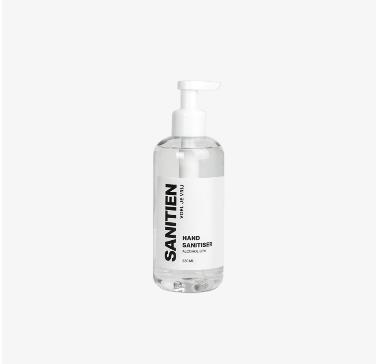 Sanitien Hand Sanitiser, 250 ml, pomp bottle (28 stuks)
