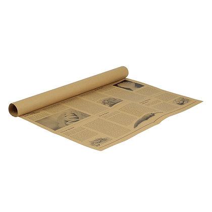 Greaseproof papier, Newsprint look, 500 x 375 mm (1000 stuks)