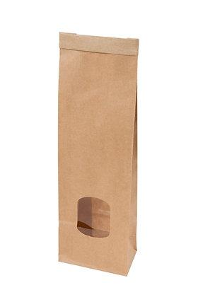Broodzakjes met venster, PP Venster, XS, 75 x 45 x 24 mm (500 stuks)