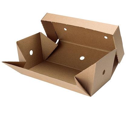 Double Burger Box, 244 x 122 x 102 mm (100 stuks)