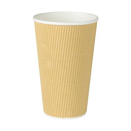 Geribbelde Cup, 400 ml, ⌀90 mm (500 stuks)