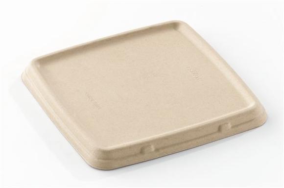 Deksel voor Snack Schaal, Vierkant, 230 x 230 mm (300 stuks)