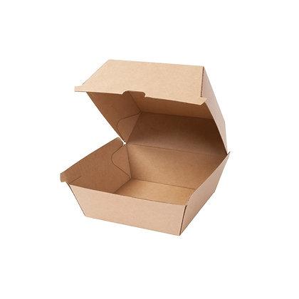 Burger Box, Bruin, 168 x 154 x 98 mm (200 stuks)