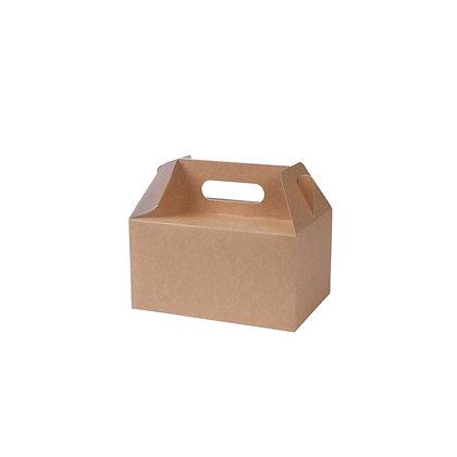 Lunch boxen met handvaten, M, 215 x 150 x 115 mm (100 stuks)