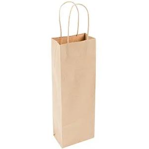 Kraft Bag, Long, 11 x 10 x 36 cm, Gedraaide handgreep (100 stuks)