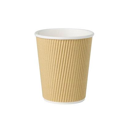 Geribbelde Cup, 200 ml, ⌀80 mm (500 stuks)