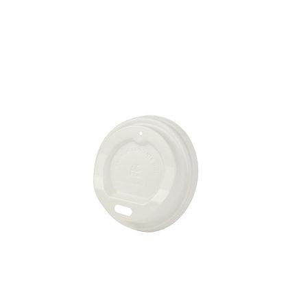 Deksel voor Kartonnen beker, ⌀62 mm, Wit (1000 stuks)