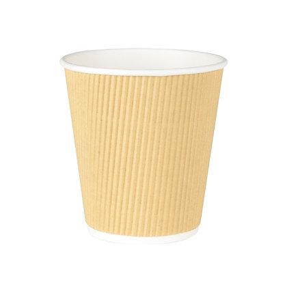 Geribbelde Cup, 250 ml, ⌀80 mm (500 stuks)
