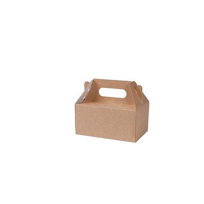Lunch boxen met handvaten, M, 180 x 110 x 155 mm (100 stuks)