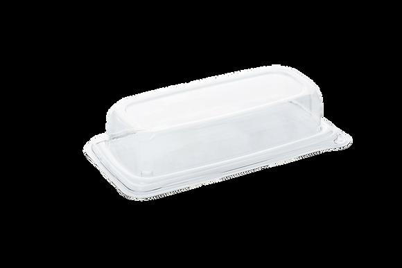 Deksel voor Snack Tray, Rechthoekig, 240 x 110 mm (300 stuks)