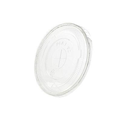 Deksel voor Transparante cups, Dicht, ⌀92 mm (1000 stuks)