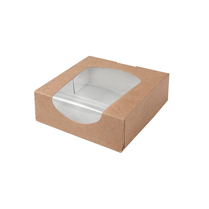 Window Box, PLA-Venster, 600 ml (250 stuks)