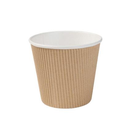 Geribbelde Soep Bekers, ⌀115 mm, 500 ml (500 stuks)