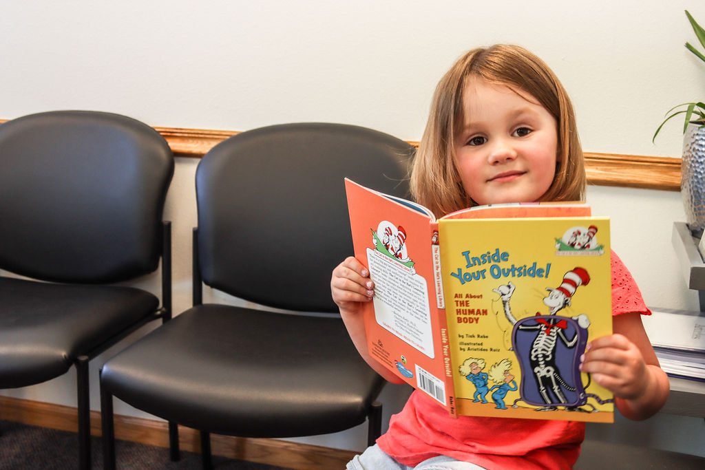Waiting Room Kid Book Inside your Outsid