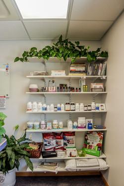 Supplement Shelves
