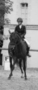 Pension chevaux Madeline Mourcou cavalière de dressage aux Herbiers en vendée