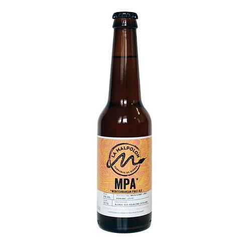 Bouteille de bière - La Malpolon -  MPA