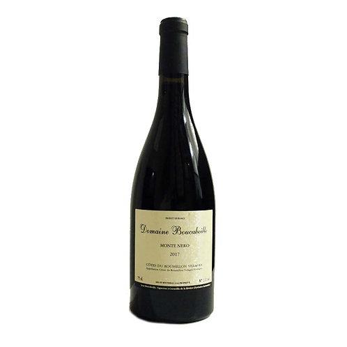 Bouteille de vin rouge - Montenero - Domaine Boucabeille - Occitanie
