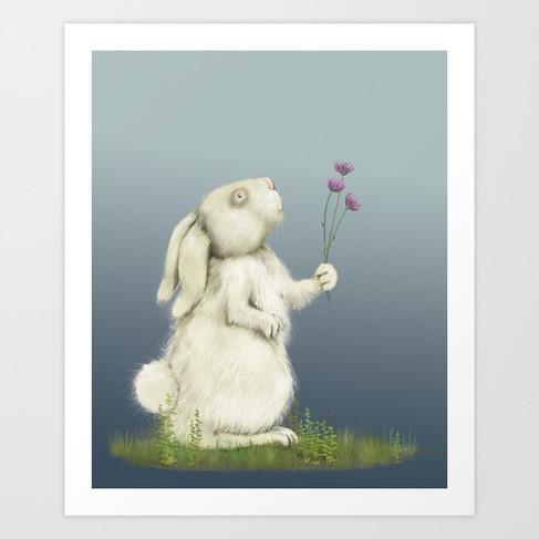 Giving Bunny Prints